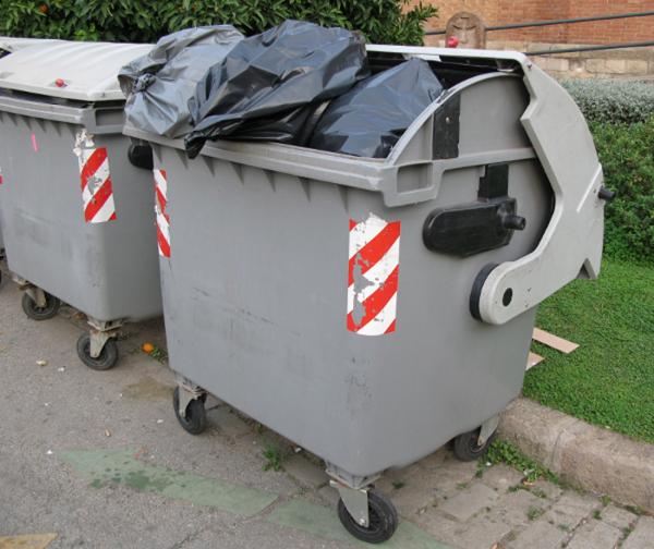 Wywóz śmieci: kontenery (Wrocław)